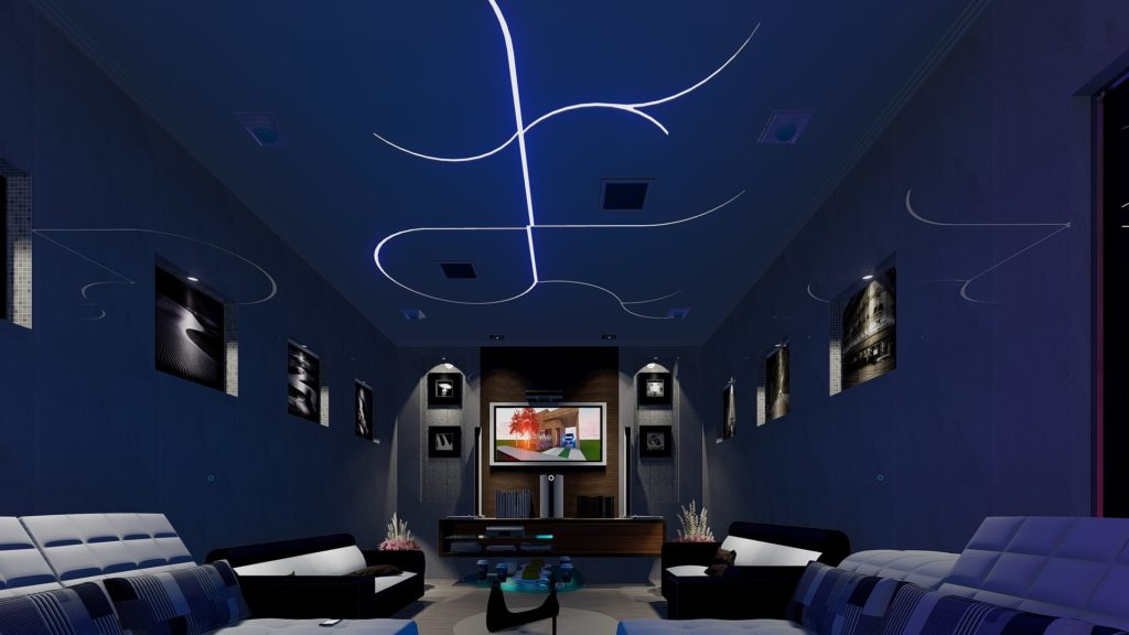 Home cinema installation image