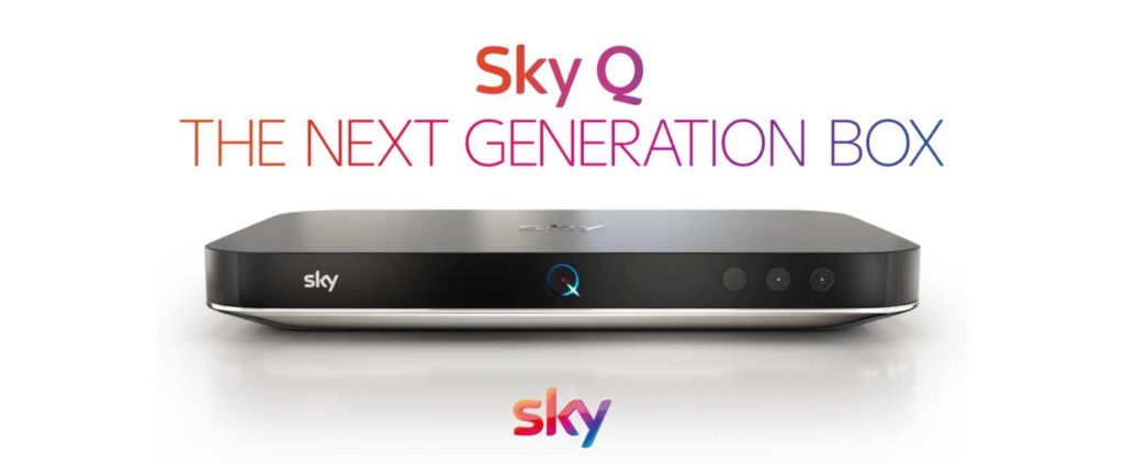 Image of Sky Q upgraded box