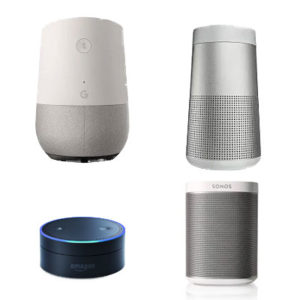 smart voice activation speakers
